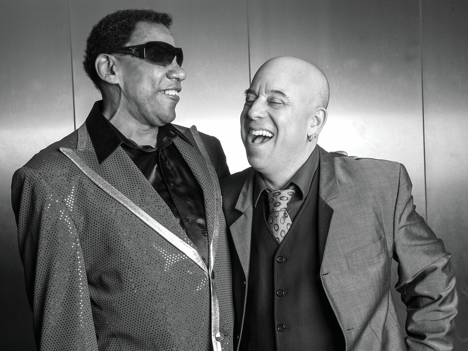 New Orleans pianist Henry Butler (left) and arranger and trumpeter Steven Bernstein will release their collaborative record, <em>Viper's Drag</em>, in the U.S. on July 15.
