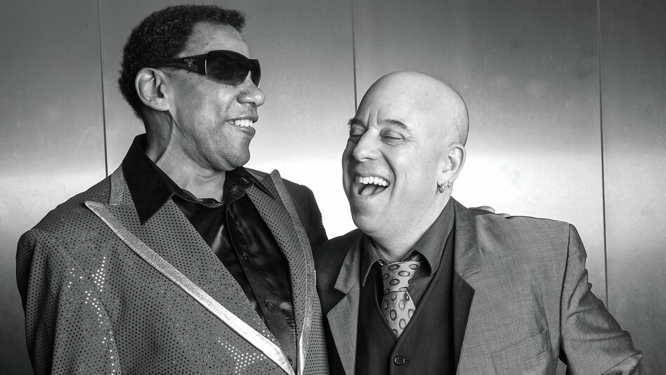 New Orleans pianist Henry Butler (left) and arranger and trumpeter Steven Bernstein will release their collaborative record, Viper's Drag, in the U.S. on July 15. (Courtesy of the artist)