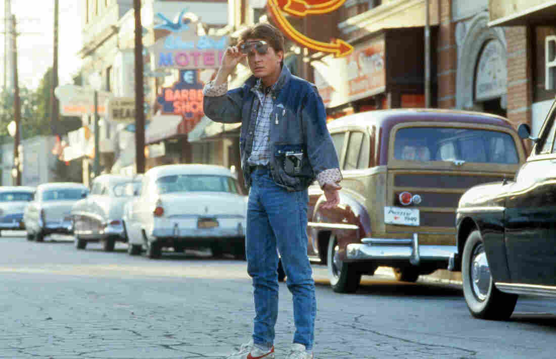 Back to the Future (1985), starring Michael J. Fox, is one of two comedies Chris Klimek included on his list of the 15 best summer blockbusters that came out between 1975 and 2013.
