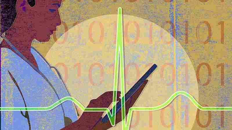 Keeping patient records electronically, instead of on paper, didn't change how much hospitals charged per procedure, a study shows. But critics say billing errors can be more subtle.