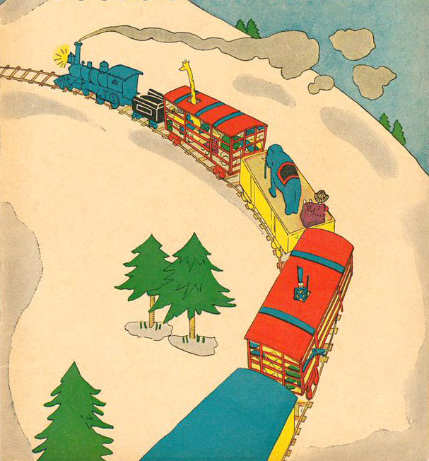Lois Lenski illustrated Platt & Munk's 1930 edition of The Little Engine.