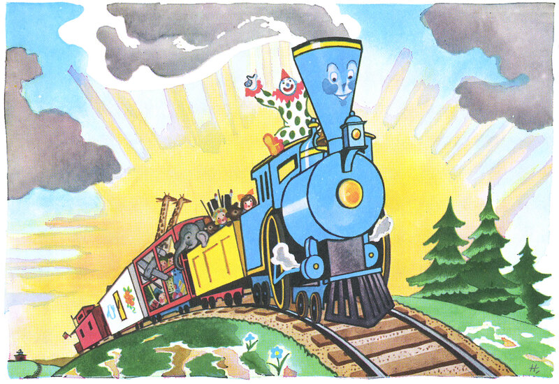 In 'Little Engine That Could,'...