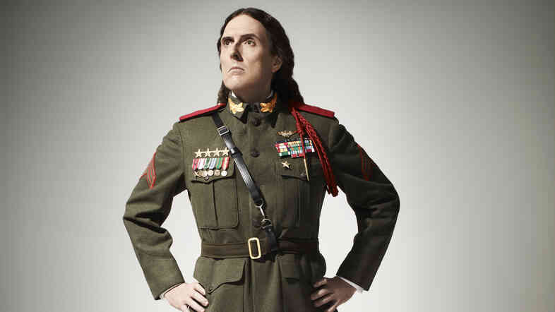 """Weird Al"" Yankovic's latest album, Mandatory Fun, comes out July 15."