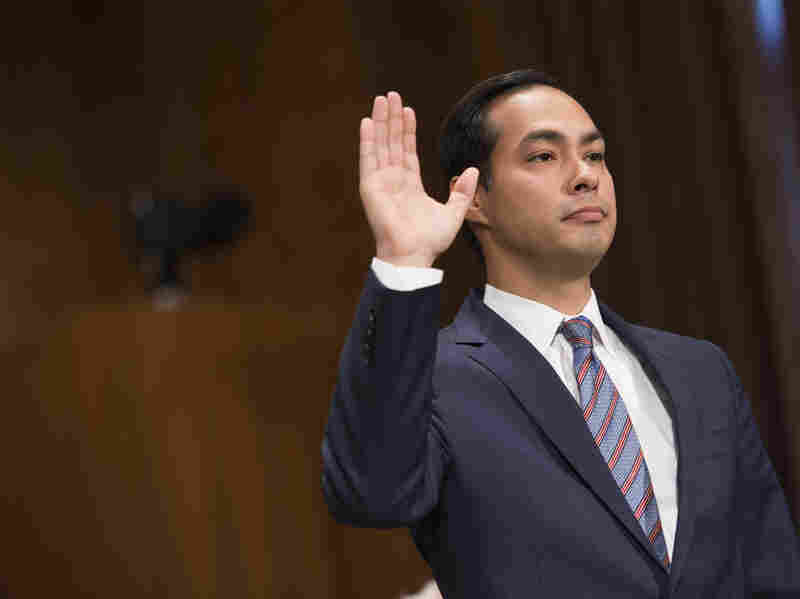 Julian Castro was confirmed Wednesday to be the next secretary of Housing and Urban Development.