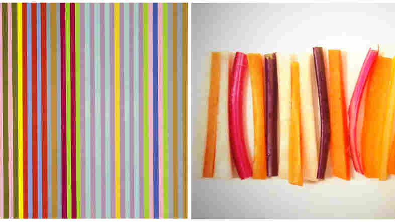 Play With Your Food: The Kandinsky-Inspired Fine Art Food Challenge