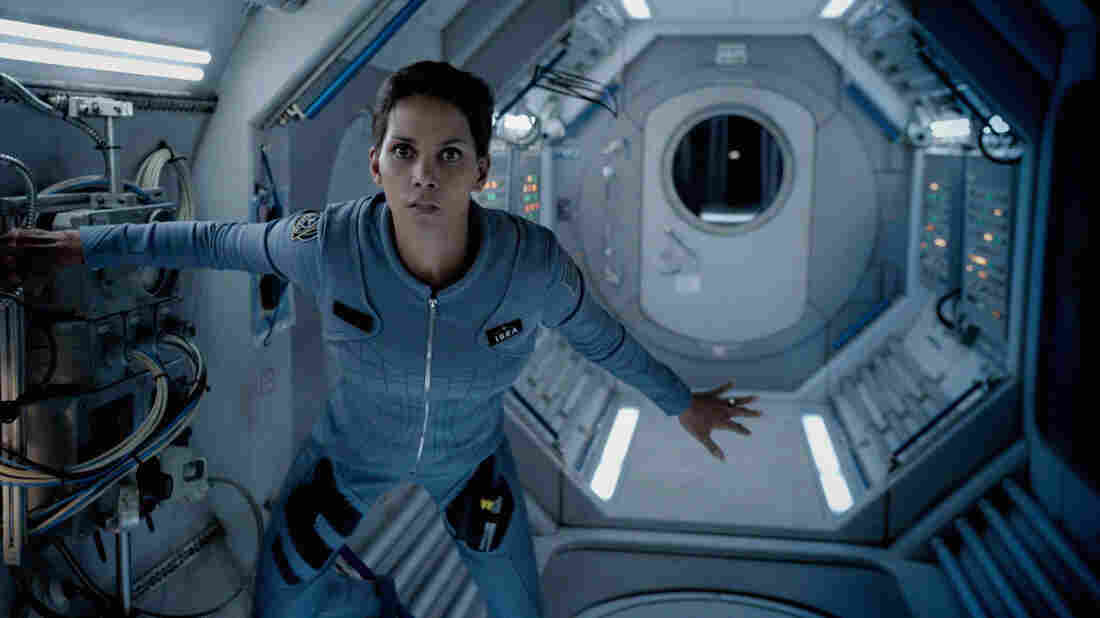 In Extant, the new 13-part CBS miniseries, a female astronaut played by Halle Berry returns from an extended, 13-month solo stint aboard a space station and learns that she's pregnant. But it's unclear by whom — or what.