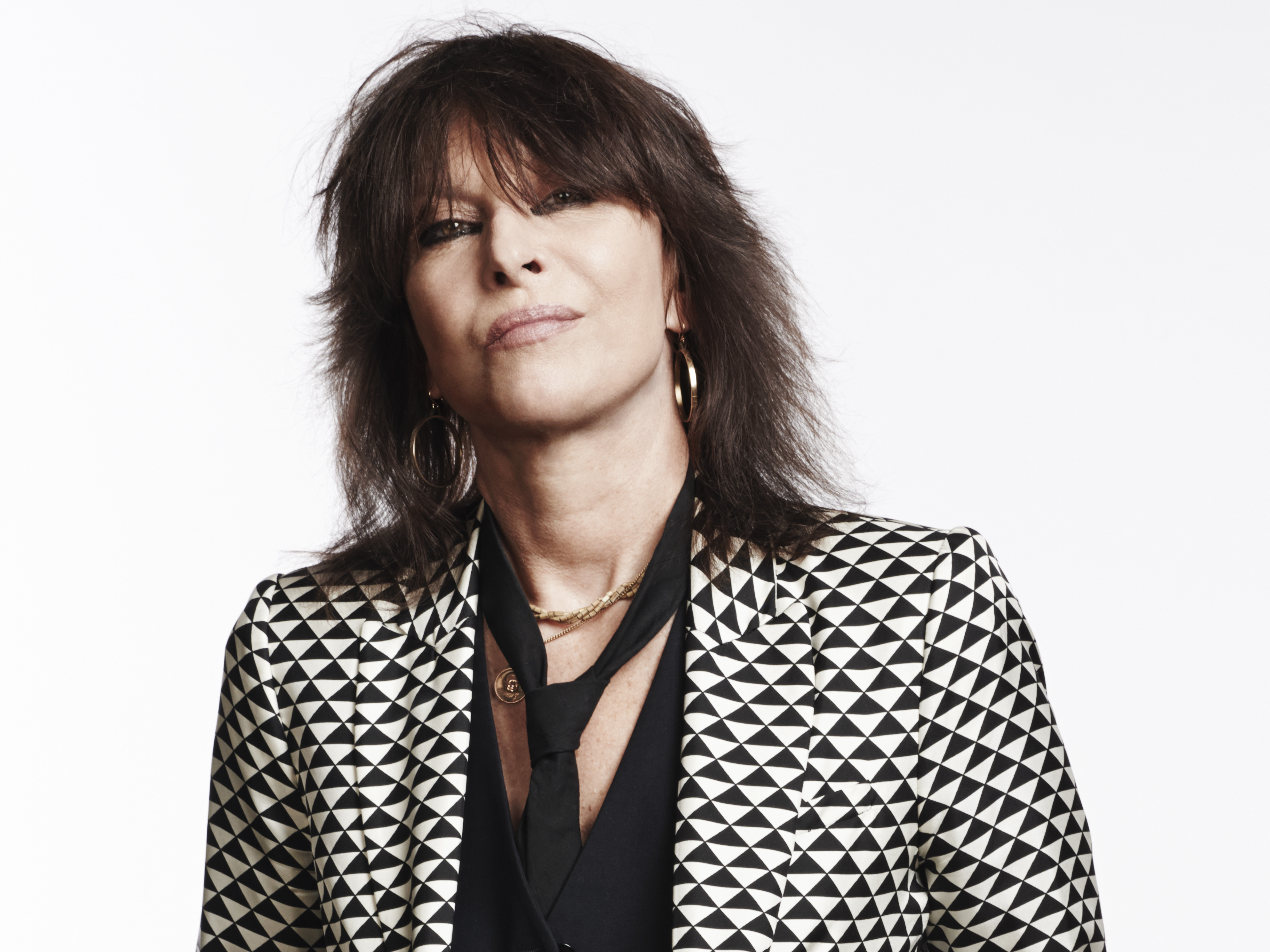 Chrissie Hynde Steps Out, But She's Not Alone