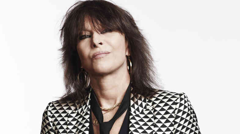 Chrissie Hynde released her debut solo record, Stockholm, this June.