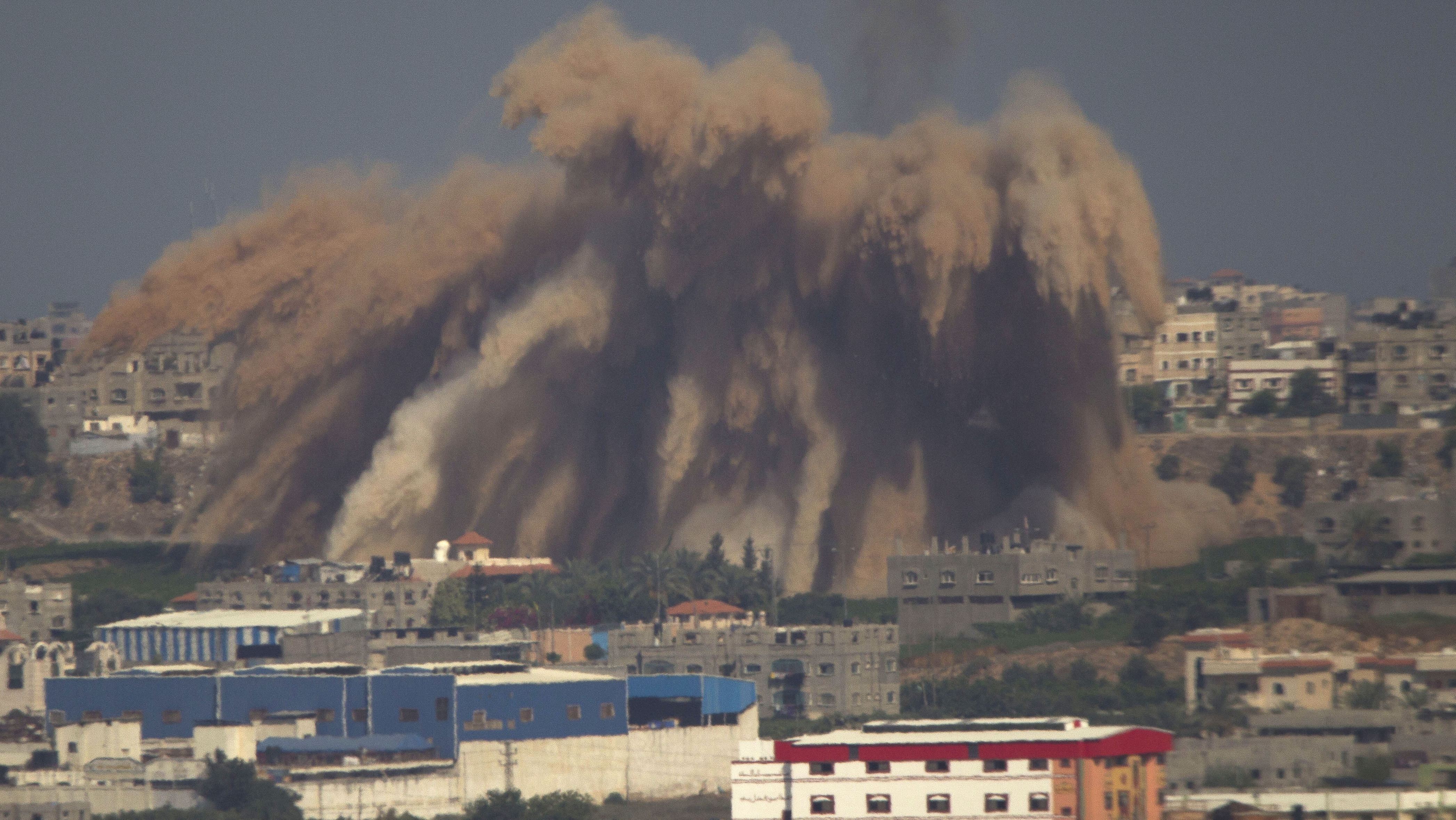 Israel Continues Gaza Offensive, Hints At Ground Operation