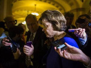 Senate Intelligence Committee Chairwoman Dianne Feinstein alleged in March that the CIA v
