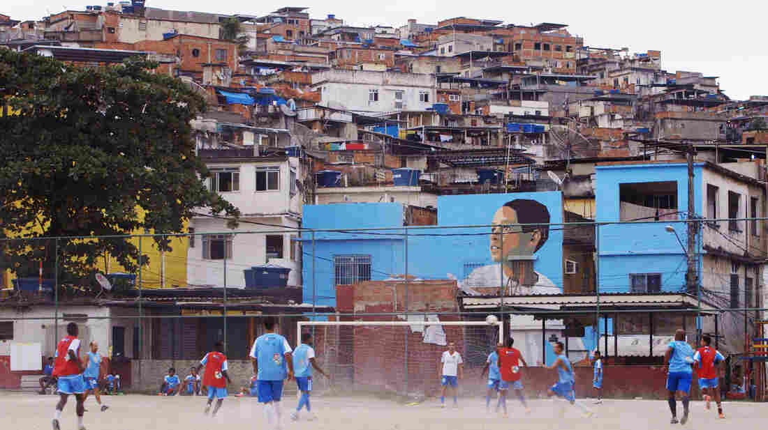 In Brazil, former drug traffickers are recruited to coach soccer in the slums. They're happy to remind kids that drugs are not the answer.