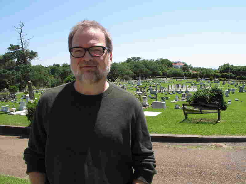 Greg Iles takes the titles of his books from Natchez landmarks. He named his thriller Turning Angel after a statue in the city cemetery.