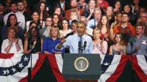 "Speaking about the need for congressional action on immigration, President Barack Obama told a crowd at the Paramount Theatre in Austin, Texas Thursday, that he would ""love it if the Republicans did stuff to."""