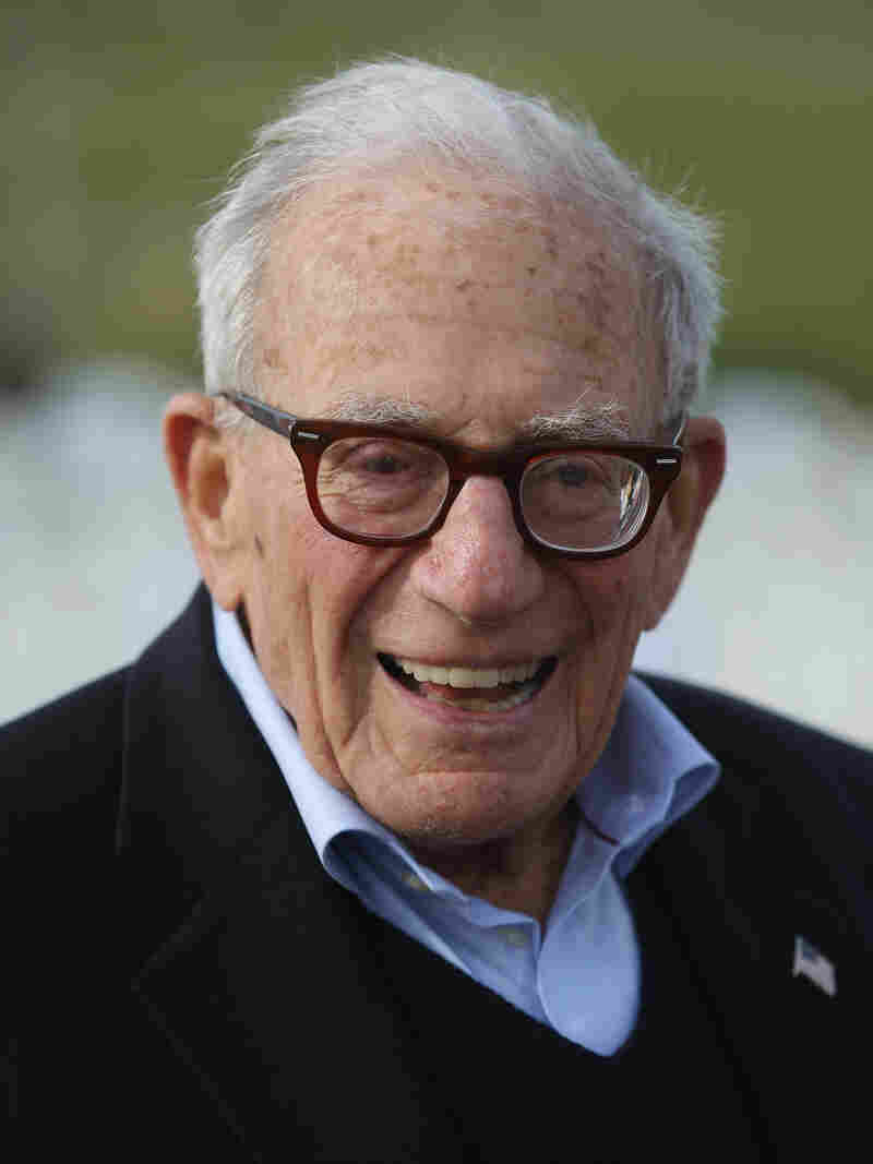 Walter Munk, 96, who served in the 146th Field Artillery of the U.S. Army, is an oceanographer who devised a method to predict the tides for the D-Day invasion.