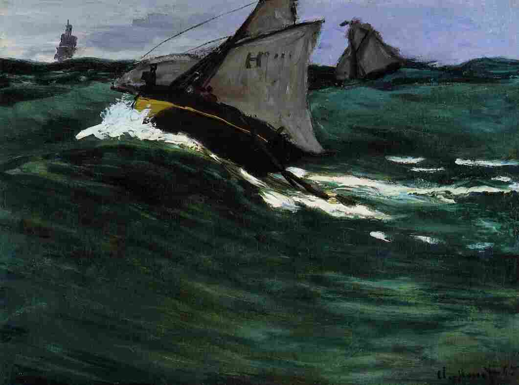 Claude Monet's The Green Wave, circa 1866–67