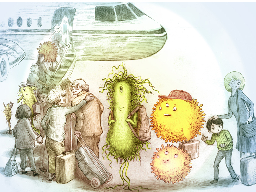 Pathogens On A Plane How To Stay Healthy In Flight
