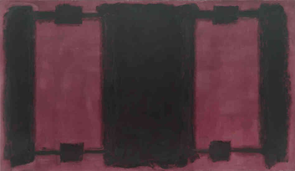 Mark Rothko's 1962 Panel Four (Harvard Mural) was one of five murals the artist did for Harvard University in the early 1960s.