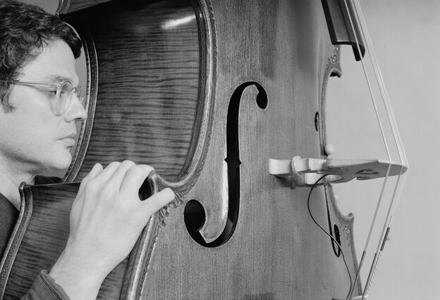 Bassist Charlie Haden in 1978. Haden died on Friday in Los Angeles.