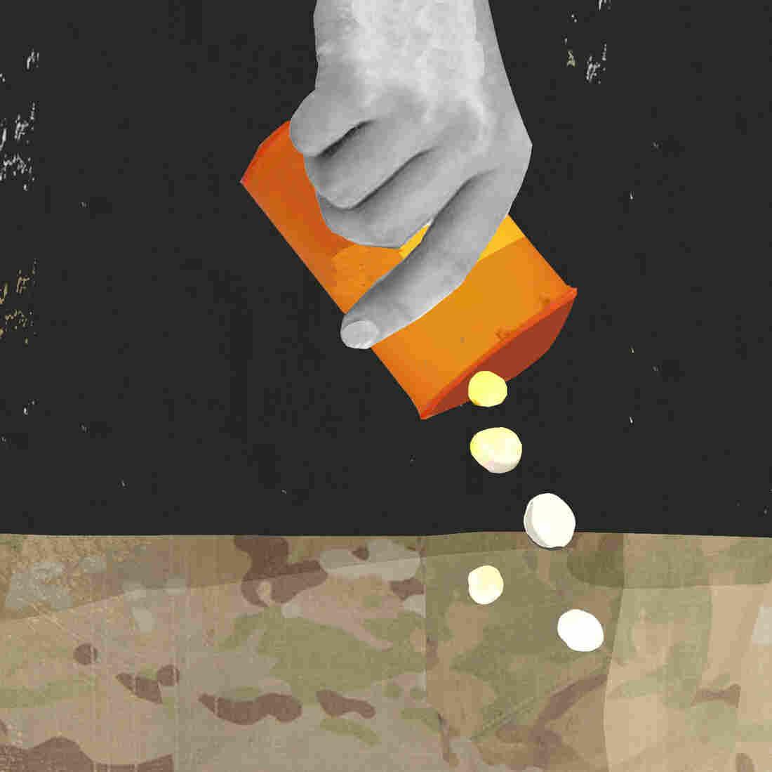 Veterans Kick The Prescription Pill Habit, Against Doctors' Orders