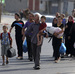 Palestinians Flee Gaza After Israel Drops Warning Leaflets