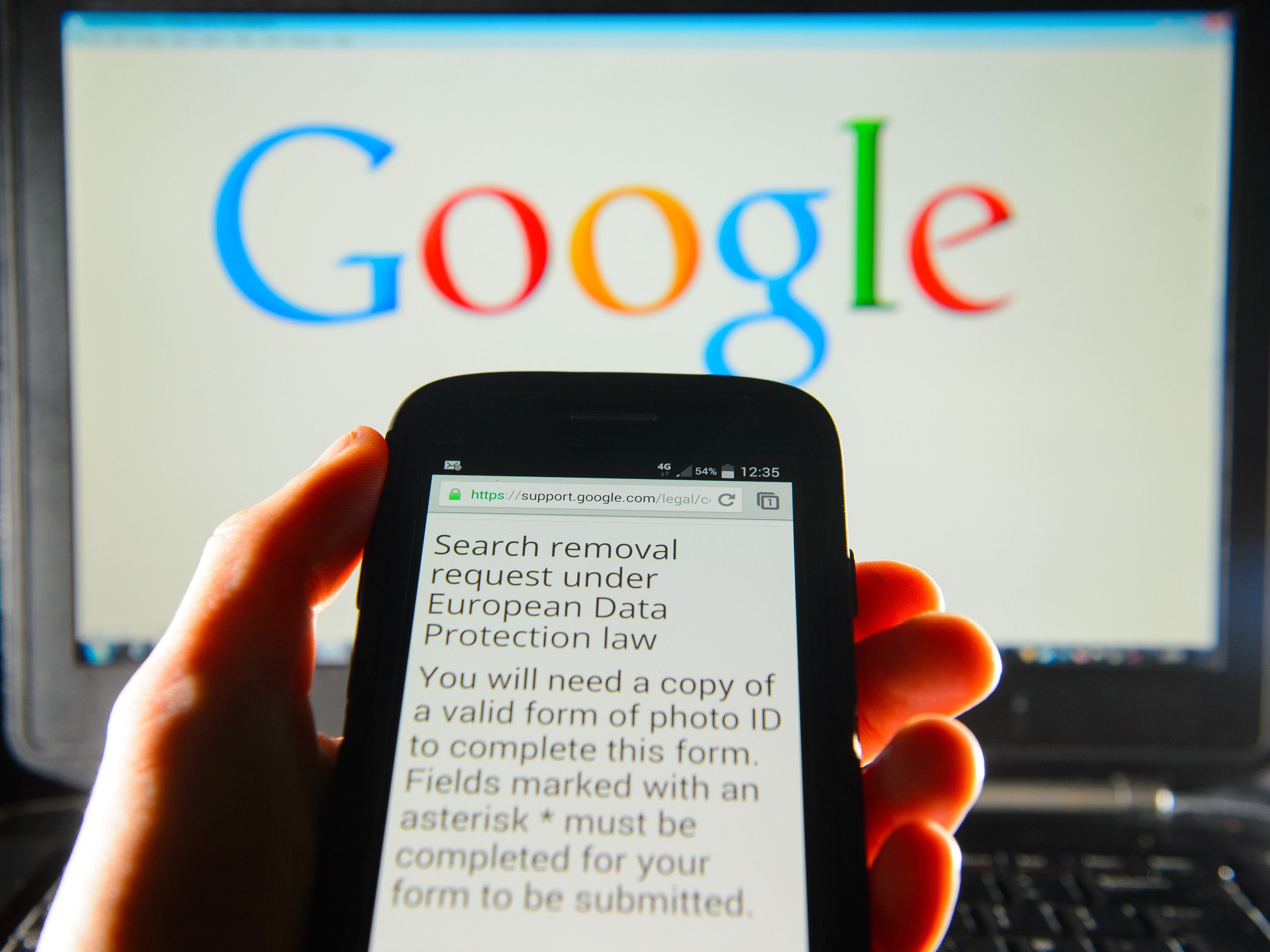 In Europe, Google Stumbles Between Free Speech And Privacy