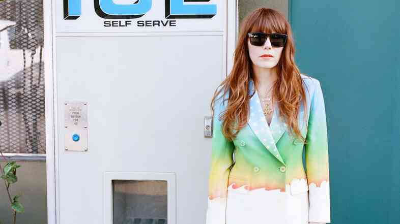 Jenny Lewis' new album, The Voyager, comes out July 29.