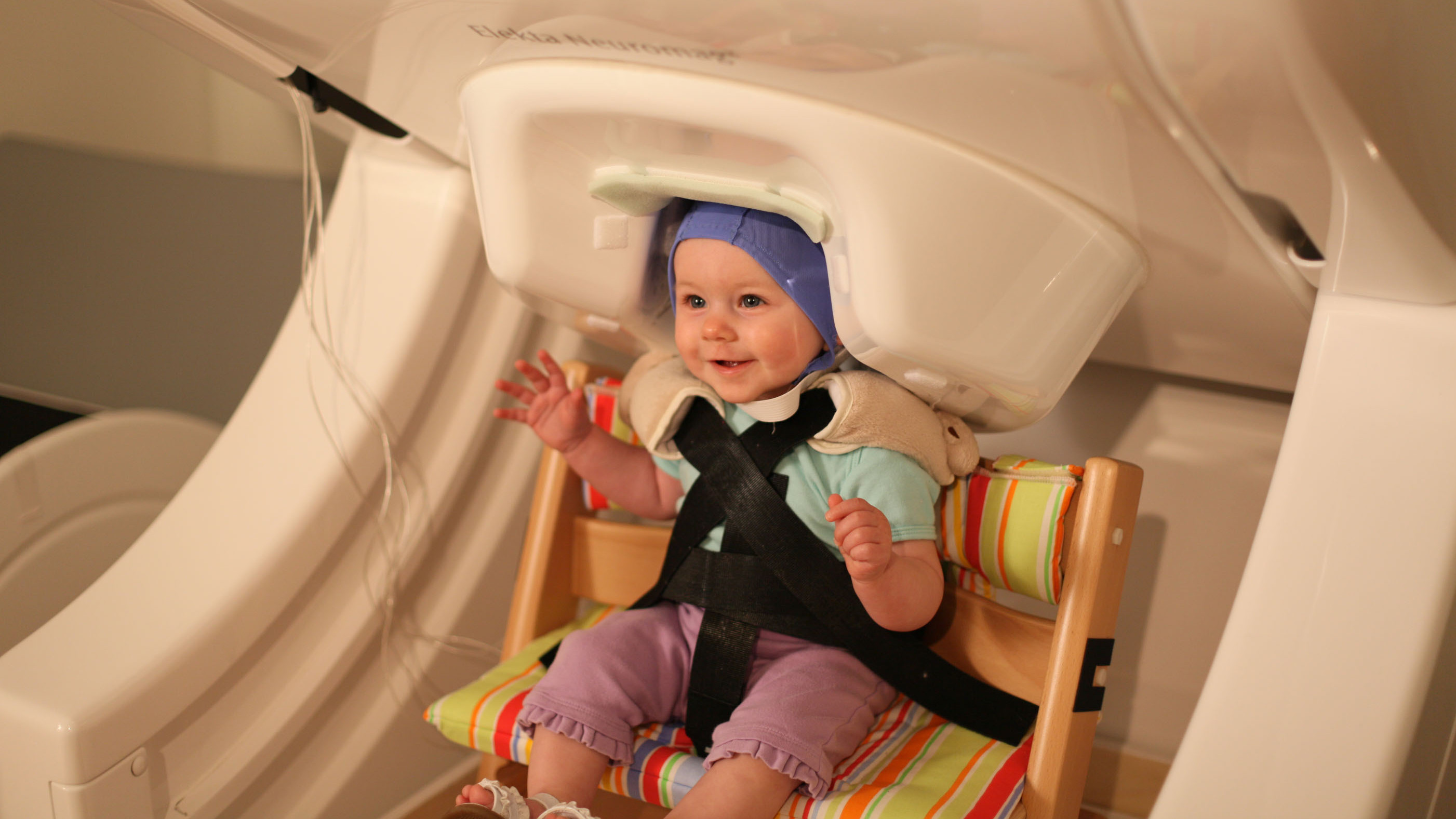 What's Going On In There? How Babies' Brains Practice Speech