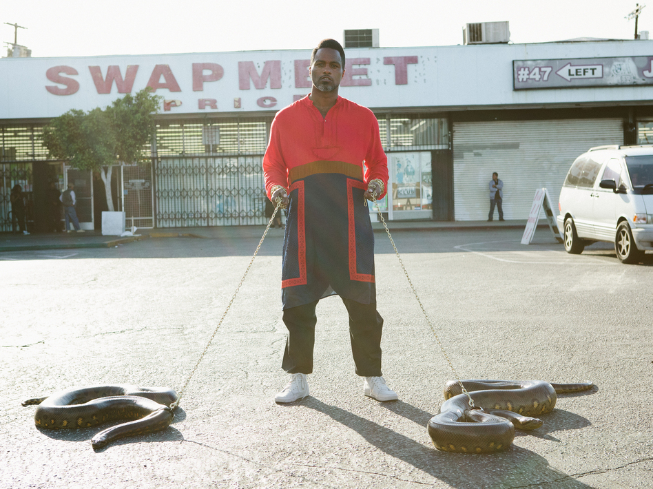 Shabazz Palaces' new album, Lese Majesty, comes out July 29.