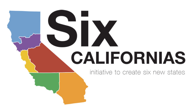An image from the Six Californias website shows the proposed borders of its plan to slice the state into areas that the plan's backers say would be more manageable.