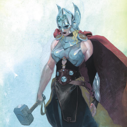 Odin's Beard! Marvel Announces A New Thor — And She's A Woman