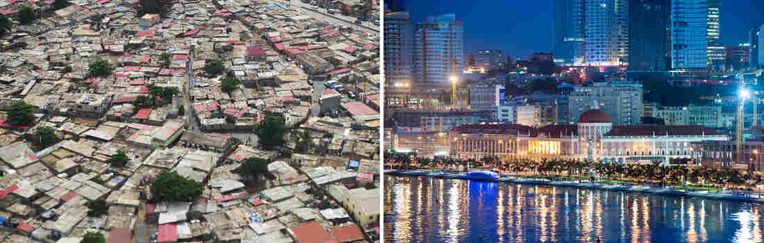 Photos of Luanda, Angola, tell a tale of two cities: sprawling poor neighborhoods and a glitzy