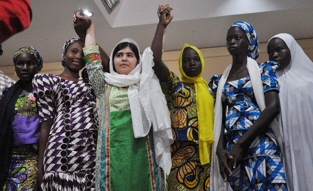 This week, Pakistani activist Malala Yousafzai met with some of the girls who escaped Boko Haram's captivity. The Islamic extremist group gained attention in April when it kidnapped more than 200 girls from a school in northeastern Nigeria. Many g