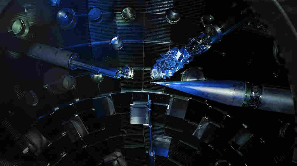 Physicists Crush Diamonds With Giant Laser