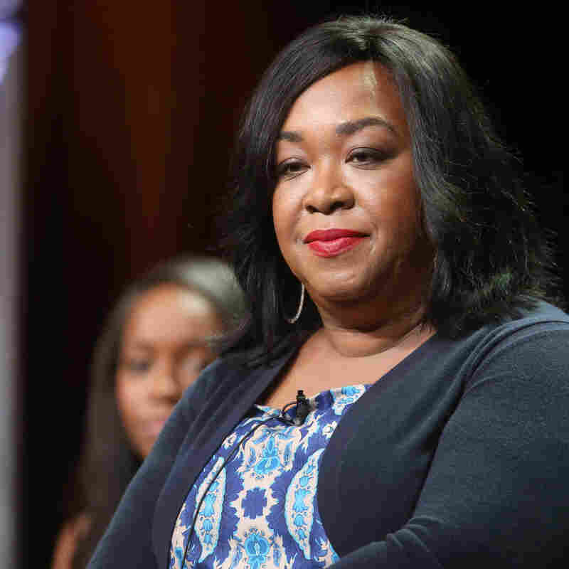 Shonda Rhimes, executive producer of How to Get Away with Murder, speaks during the Television Critics Association's summer press tour in Los Angeles.