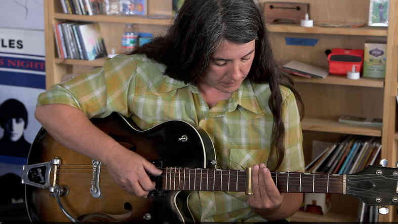 Marisa Anderson performs a Tiny Desk Concert.