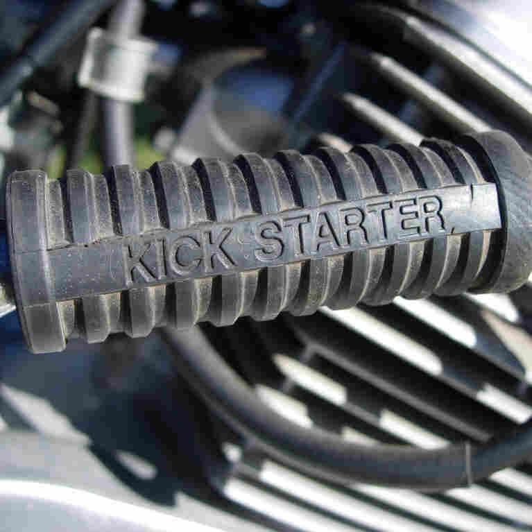 Motorcycle kickstarter.