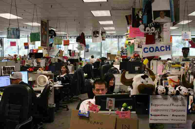 The call center of Zappos.com gets high marks from consumers for strong customer service.