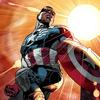 Sam Wilson, the new Captain America.