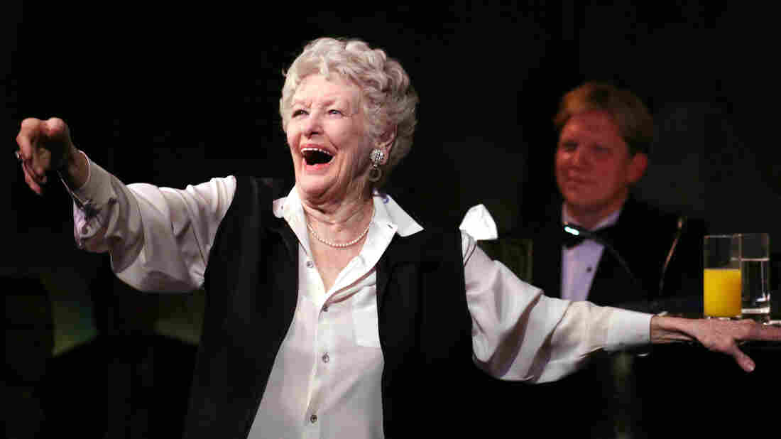 Elaine Stritch in her final engagement at the Cafe Carlyle in New York in 2013. Stritch bade farewell to New York with a se