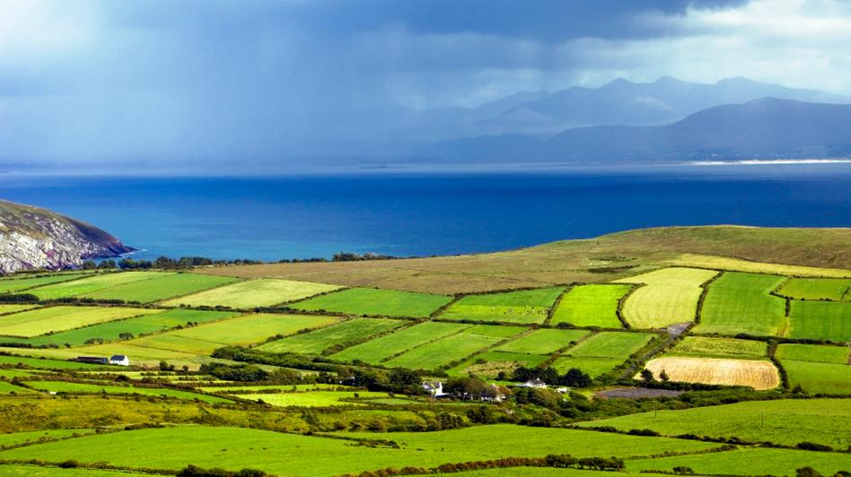 """Ireland (shown here in this Dingle Peninsula photo) has been among the greenest pastures for countries seeking to reduce their tax liabilities through a process called """"corporate inversion."""" (iStockphoto)"""
