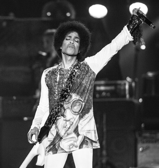 Prince headlined the 2014 Essence Festival at the Superdome in New Orleans, LA.