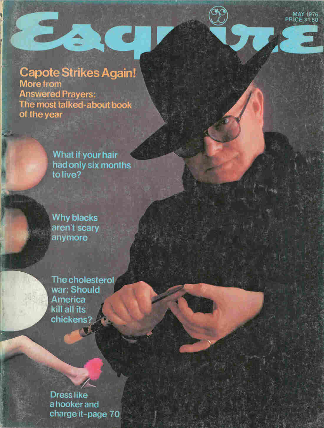 "From 1969 to 1977, during Gordon Lish's tenure as fiction editor, the magazine was known for publishing some of the era's literary icons,€"" including John Cheever, Raymond Carver and Truman Capote, who let Esquire run the first chapters of his unfinished book Answered Prayers in 1975 and '76."
