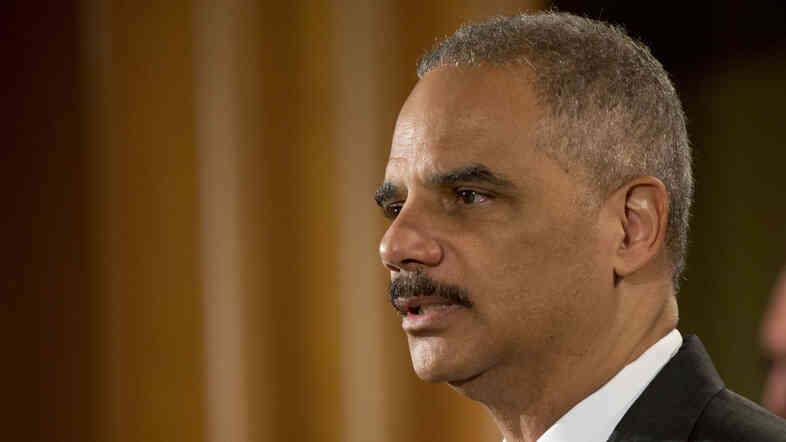 Attorney General Eric Holder, seen here Monday, has supported changes in drug sentencing, but the Sentencing Commission went further than he preferred