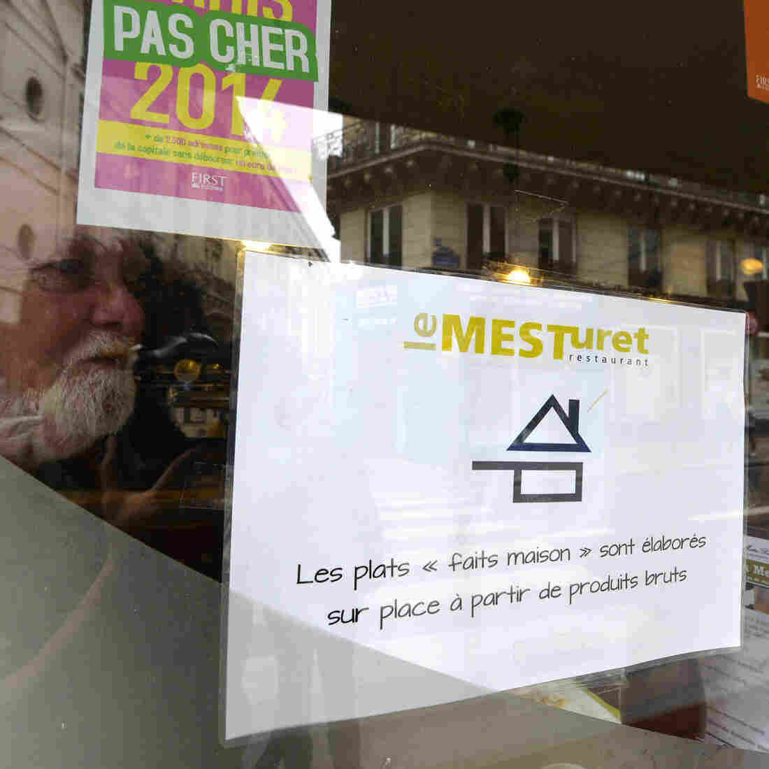 A new logo that is supposed to ensure a Paris restaurant's food is homemade (fait maison in French) is already stirring up controversy.
