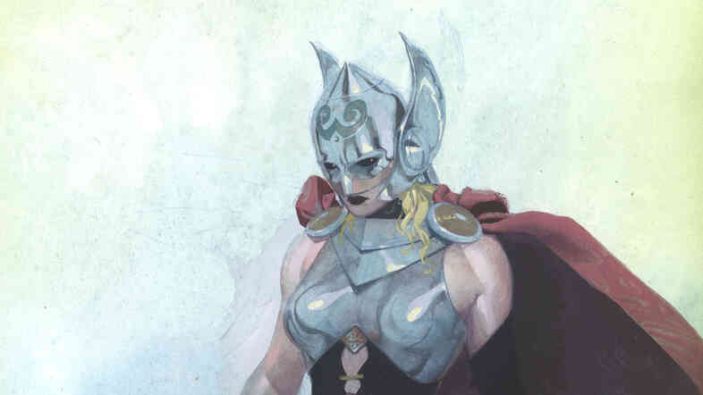 Jason Aaron, who writes the Thor series for Marvel, says the female Thor is here to stay.