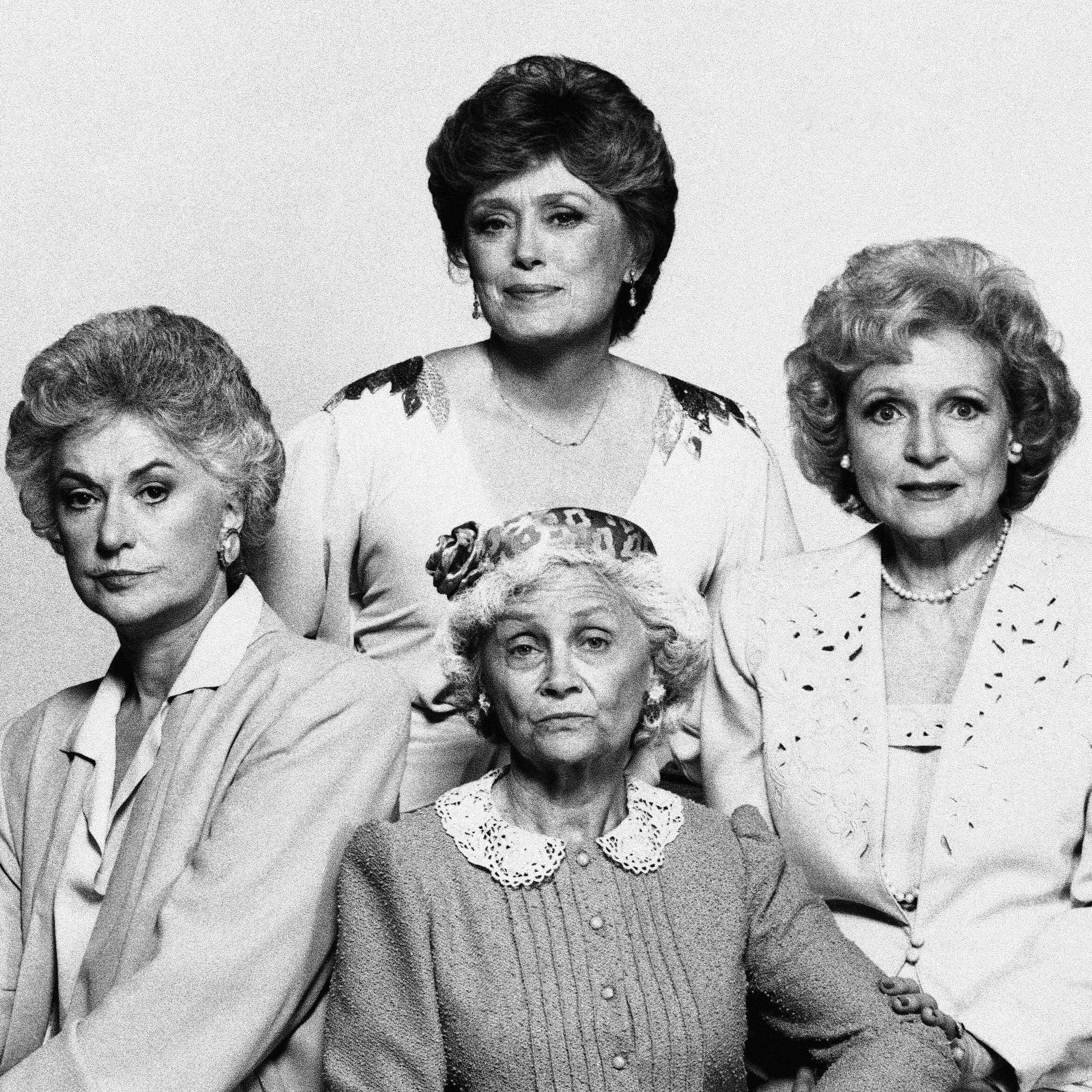 In true kick-ass Golden Girls fashion, Dorothy (Bea Arthur, clockwise from left), Blanche (Rue McClanahan), Rose (Betty White) and Sophia (Estelle Getty) showed us how utterly human we all are at any age.