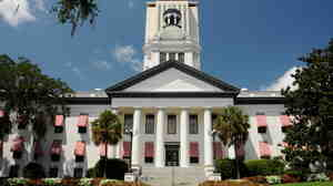 Florida's state capitol. A redistricting plan crafted by the Republican-controlled Legislature in Tallahassee was partially thrown out by a state judge.