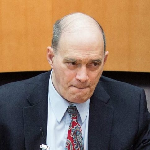 Bill Binney (shown here in Berlin, Germany, on July 3) worked for the NSA for three decades before quitting after he discovered the agency was using software he created for domestic spying on U.S. citizens.