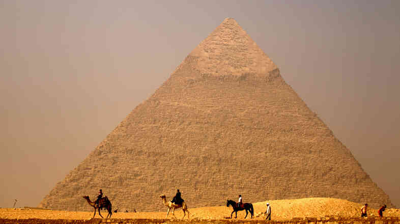 It took more than superstition to build Egypt's famous pyramids. It took some very clever engineering to move the heavy stones used in construction across the area's shifting sands.