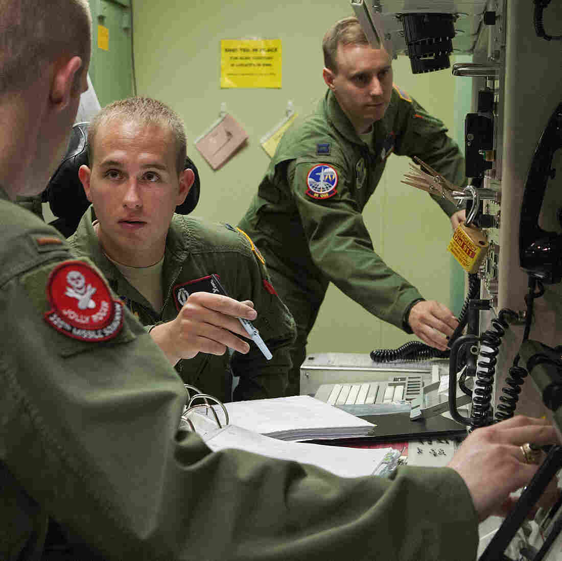 To Stop Cheating, Nuclear Officers Ditch The Grades